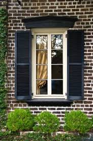 black exterior window shutters. Plain Black Exterior Window Trim Ideas With Narrow Windows Black Shutters  Stately Pelmet Climing Vines To Black Window Shutters B
