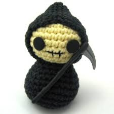 Cute Crochet Patterns Awesome Creepy Cute Mini Tutorial Grim Reaper's Hood NeedleNoodles