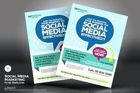 Social Media Marketing Flyers Template Proposal Free Helenamontana