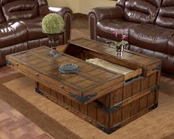pallet rustic contemporary coffee table