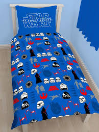 star wars episode vii divider single duvet cover and pillowcase set