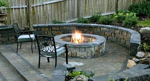 image of diy outdoor fireplace patio designs