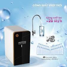 Máy lọc nước để gầm, Tủ bếp Mutosi MP-370U - 7 Lỏi lọc