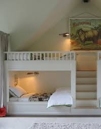 Built In Bunk Beds Built In Steps For The Bunk Beds So Much Safer Than Those Darn