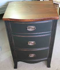Small Side Table For Bedroom Small Bed Side Tables With Elegant Three Drawers As Storage And
