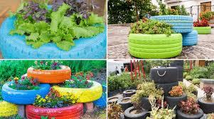 31 best tire planter ideas