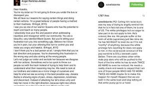 azealia banks pens essay on white supremacy zayn k and skai  source instagram