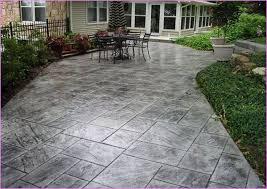 Unique Concrete Patio Designs Best 25 Stamped Concrete Patios Ideas