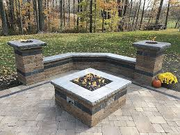 square paver patio with fire pit. Bricks For Fire Pit Awesome Square Paver Patio With Full Size In Ground N