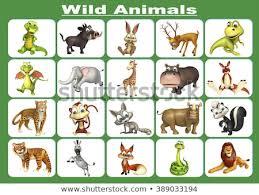 wild animals chart. Beautiful Animals 3d Rendered Illustration Of Wild Animal Chart To Wild Animals Chart 5