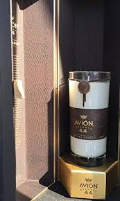 avion tequila gift box set soy candle cut bottle scented