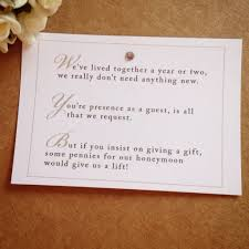 monetary wedding gift wedding invitation wording for monetary gifts
