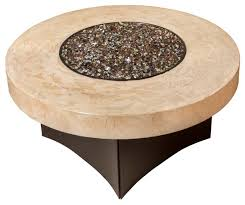 oriflamme gas fire pit table tuscan savanna tuscan 38 round