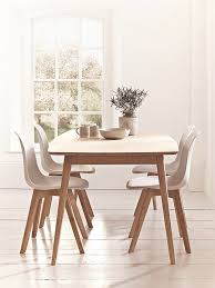 scandinavian style dining room furniture table and chairs regarding plan 4