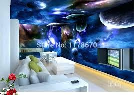 galaxy bedroom wallpaper space
