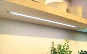 cupboard lighting led. Led Shelf Lighting Contemporary Under Cabinet Recessed Within Display Strip Cupboard