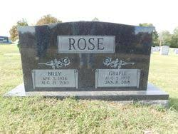 Billy Ray Rose (1926-2013) - Find A Grave Memorial