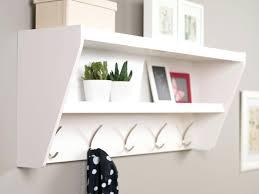 wall hooks with shelf discover wall mounted coat racks ikea wall shelf hooks