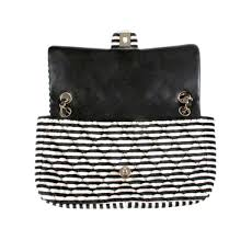 black and white chanel bags. chanel rayeures striped velvet flap bag black and white bags i