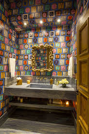 Eclectic Bathroom Fascinating 48 Eclectic Bathrooms Pinterest Bald Hairstyles Amazing