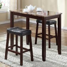 andover mills daisy 3 piece counter height pub table set reviews inside bar stool and prepare 4