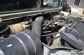 m998 humvees were initially powered by a naturally aspirated 6 2 liter sel v8 producing 190 horsepower and 380 pound feet of torque