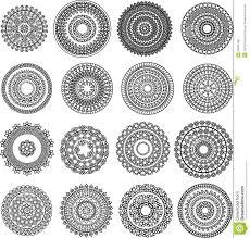 Mandala Indian Designs Henna Mandala Stock Vector Illustration Of Floral