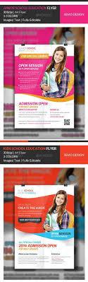 flyer templates graphicriver junior school education flyer graphicriver junior school education flyer template bundle