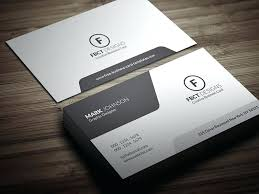 Business Card Templates Free Design Ideas Simple Template Download