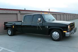 All blacked out 1984 Chevrolet C30 Silverado Crew Cab Pickup ...