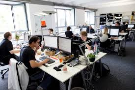 where is google office. Say Good-bye To Boring Cubicles! Google Believes In Having Open Spaces  Their Offices, Where Everyone Is Accessible For Everyone. Google Office