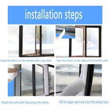 400cm Airlock Tragbar Klimaanlage Fenster Abdichtung Hot Air Stop Klimagerät