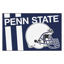 fanmats ncaa penn state navy 2 ft x 3 ft area rug 18774 the home depot