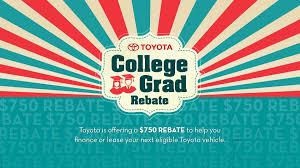Toyota College Graduate Rebates Financing Bristol Tn Tri Cities