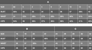 Jovani Size Chart Cyc Boutique