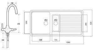 sinks 2017 standard size kitchen sink ideas standard size in measurements 1360 x 780