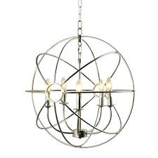 nickel orb chandelier infinity orb 5 light nickel plated finish chandelier orb chandelier orb crystal chandelier nickel orb chandelier
