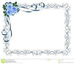 Wedding Invitation Borders Download Wedding Invitation Card