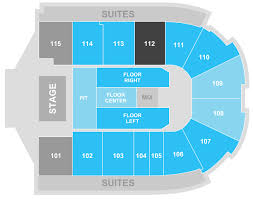 Us Cellular Seating Chart Bloomington Il Grossinger Motors Arena Venuworks
