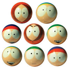 South Park Vending Machine Toys Delectable Buy South Park 48mm Foam Balls Vending Machine Supplies For Sale
