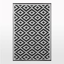 pixel outdoor rug in black white geometric patterned picnic mat black outdoor rug 9x12