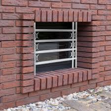 Fenstergitter Einbruchschutz Ausziehbar Verzinkt Sicherheitsgitter