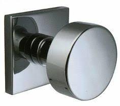Flat round door knob Master Bathroom and Closet Pinterest