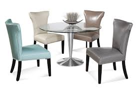 Glass Dining Table Set 4 Chairs Kitchen Dining Set Glass Dining Table Design Come With Tier To