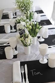 elegant black and white wedding table 40 awesome black and white wedding table settings ide