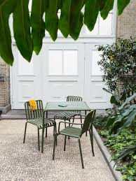 outdoor furniture metal lawn chairs made modern gardenista long outdoor table nz long narrow outdoor table