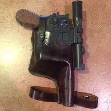 han solo leather holster tutorial