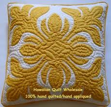 46 best Hawaiian Quilts images on Pinterest   Colors, Love and ... & Hawaiian Quilt Cushions 2 Pillow Covers Handmade 100 Hand Quilted Appliqued  18