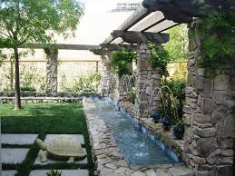 Small Picture Pictures Of Backyard Waterfalls Backyard Waterfall Backyard