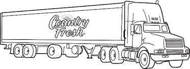 Small Picture Country Fresh Semi Truck Coloring Page Download Print Online